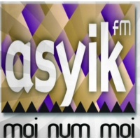 Logo of radio station ASYIKfm