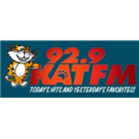 Logo of radio station KATF KAT 92.9