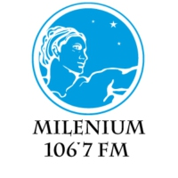 Logo of radio station FM Milenium 106.7