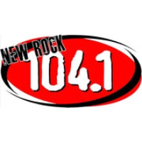 Logo of radio station KFRR New Rock 104.1