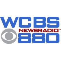Logo of radio station WCBS 880 AM