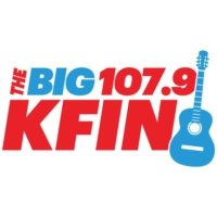 Logo of radio station KFIN FM 107.9