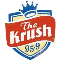 Logo of radio station KRSH The Krush 95.9