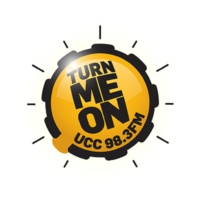 Logo of radio station UCC 98.3FM