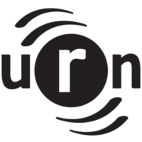 Logo of radio station URN