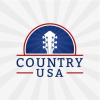 Logo of radio station Country USA
