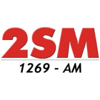 Logo of radio station 2SM