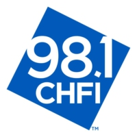Logo of radio station 98.1 CHFI