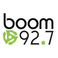 Logo de la radio CHSL-FM boom 92.7