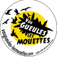 Logo of radio station Vos gueules les mouettes