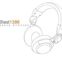 Logo of radio station Blast 1386