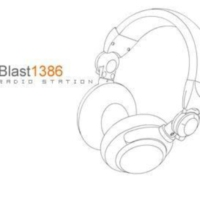 Logo of radio station Blast 1386