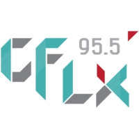Logo of radio station CFLX 95.5
