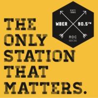 Logo of radio station WBER 90.5