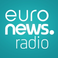 Logo of radio station Euronews radio (in English)