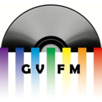 Logo of radio station GVFM
