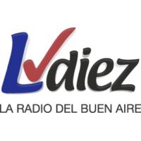 Logo de la radio LV Diez