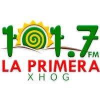 Logo of radio station XHOG La Primera 101.7 FM