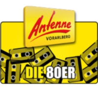 Logo of radio station Antenne Vorarlberg 80er