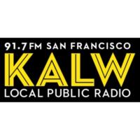 Logo of radio station KALW 91.7 FM