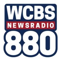 Logo of radio station WCBS 880 AM