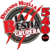 Logo of radio station La Bestia Grupera 540 AM