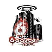Logo of radio station Booster FM