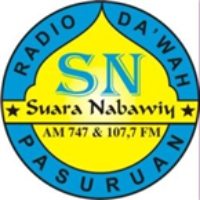 Logo of radio station Radio Suara Nabawiy FM 107.7