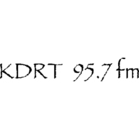 Logo of radio station KDRT-LP 95.7