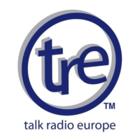 Logo of radio station Talk Europe Radio