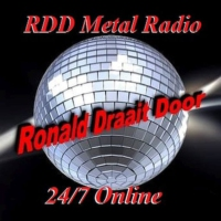 Logo of radio station RDD MetalRadio NL