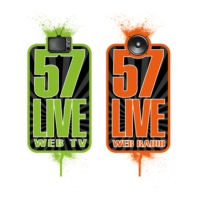 Logo of radio station 57live