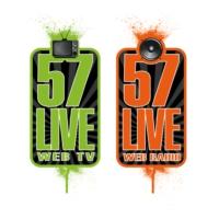 Logo of radio station 57live