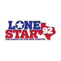 Logo of radio station KNFM LoneStar 92