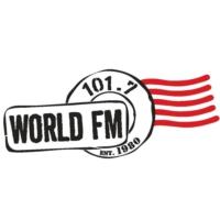 Logo of radio station CKER 101.7 World FM
