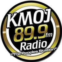 Logo of radio station KMOJ FM 89.9