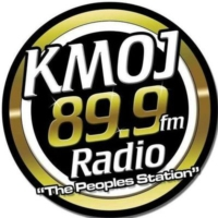 Logo of radio station KMOJ FM 89.9