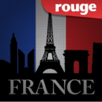 Logo of radio station Rouge FM Made in France