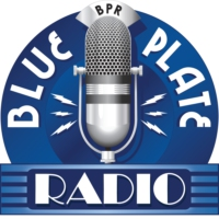 Logo of radio station Blue Plate Radio