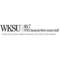 Logo of radio station WKSU Kent State Univ. NPR 89.7 FM