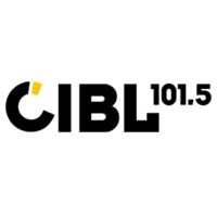 Logo of radio station CIBL 101.5 FM