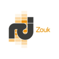 Logo of radio station RCI Zouk