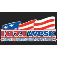 Logo of radio station WPSK 107.1