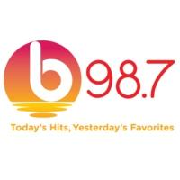 Logo de la radio b98.7 FM