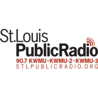 Logo of radio station 90.7 FM KWMU-1