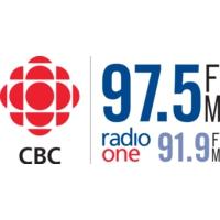 Logo of radio station CBEW-FM CBC Radio One Windsor