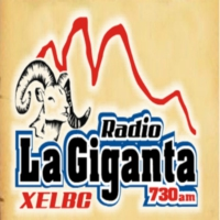 Logo of radio station XELBC Radio La Giganta 730 AM