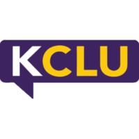 Logo of radio station KCLU