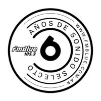 Logo de la radio FM Blue 105.3