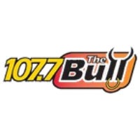 Logo de la radio WIBL The Bull 107.7